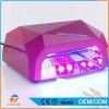 Lampe UV de dessiccateur professionnel de clou pour le gel s'enroulant de clou