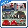 tenda di campeggio esterna gonfiabile di 4X4m X-Gloo, facente pubblicità alla tenda