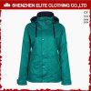 女の子(ELTSNBJI-11)のためのサイズと深緑色の雪の冬のジャケット