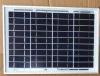 Bon poly panneau solaire de la qualité 10W des prix bon marché pour le feu de signalisation avec le certificat de la CE d'OIN de TUV