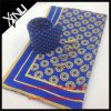 Legame degli uomini stampato seta di 100% con la sciarpa di corrispondenza