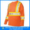 T-shirt r3fléchissant orange d'hommes de sûreté de force en gros d'usure salut