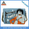 La tela di canapa del fumetto dei ragazzi degli uomini mette in mostra il sacchetto del messaggero della spalla del banco del iPad