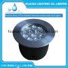 Luz subacuática ahuecada IP68 de la piscina de DC12V RGB LED