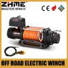 9500lbs guincho puxando elétrico do veículo 4X4 com guincho sintético