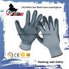 ニトリル泡によって塗られる作業手袋が付いている15gニトリルの点