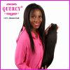 2016新しい到着の黒人女性のためのインドのまっすぐなRemyの毛の織り方