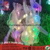 LED IP68 220V 결혼식 훈장을%s 다색 나비 크리스마스 커튼 빛 끈