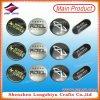 Etiketten de Van uitstekende kwaliteit van de Kleding van het Metaal van de Etiketten van het Aluminium van het Afgietsel van de matrijs