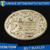 Modificado para requisitos particulares hecho en la hebilla de correa de cobre amarillo