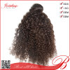 Balck Women를 위한 브라질 Kinky Curly Human Hair Extension