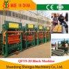 機械(QT5-20)を作る機械平板を作る中国の舗装の石機械石塀