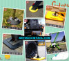 Upe Plastic Sheetの反Impact Hard Plastic Crane Outrigger PadかCrane Mat/Crane Pad/Temporary Ground Protection Mat