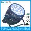 18*10W RGBW impermeabilizan la luz de la etapa de la IGUALDAD LED