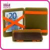 남녀 공통 매우 얇은 가죽 마술 지갑 여행 돈 클립 간계 신용 카드 홀더