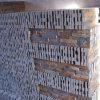 Pedra oxidada natural da cultura da ardósia