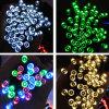 2015 lumières actionnées solaires de chaîne de caractères de la décoration DEL de Noël de festival de la noce IP44