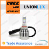 diodo emissor de luz Head Light de 6000k 25W Car com CREE Bulb H7