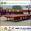 De Directe Leverancier van de Fabrikant van China heet-Verkoopt Flatbed Semi Aanhangwagen van de Container van de Lading 40FT