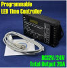 DC12V-24V 5 Channels 20A Programmable Time СИД RGB/Single Color Strip Controller Tc420