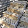 Panneaux de mur en pierre empilés par ardoise jaune d'or normale (SMC-SCP431)