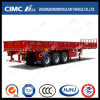 Cimc Huajun 3axle Cargo/Fence Semi-Trailer avec Flat Type Side Wall