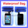 iPhone Samsungのための7カラー3 Zipper Lock Thickness 1mm Waterproof Bag