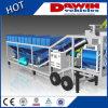 petites centrales 25m3-100m3/Hr mobiles à de grands coffres et à lots de capacité de stockage