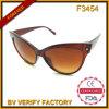 Heiße verkaufenkatzenaugesun-Gläser für Frauen-Masse-Kauf von der Wenzhou Fabrik (F3454)