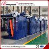 Forno di fusione elettrico dello scarto di alluminio da 2 tonnellate con il cappuccio del vapore di stile di ciclone