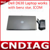 Alta calidad D630 Laptop Work para Benz Star C4 Software con Lower Price