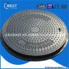 En124 B125 Dia700mm om het Waterdichte Gewicht van de Dekking van het Mangat Grc