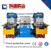Presse hydraulique de moulage par compression en caoutchouc de silicones de vide faite à la machine en Chine