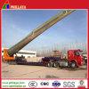 Halb Low Bed Trailer für Transporting Wind Turbin Blade