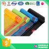 Bolso de basura biodegradable plástico del lazo con diverso color