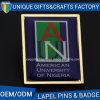 Insigne en alliage de zinc d'accessoire de sac de logo en métal de qualité