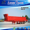 3 Radachsen 50t Ende Dump Semi Trailer, Tipper Truck Trailer