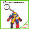 Eco-Friendly Material Promotional Cheap 3D Soft Rubber Keychain (EP-K82916)