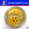 Diamant Turbo Cup Wheel pour Grinding Stone