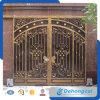 Modèle décoratif de grille de glissement de garantie de fer travaillé de qualité supérieure