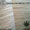 Chanvre/tissu de bout droit réutilisé de polyester (QF13-0006)