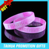 Wristband segmentado costume da borracha de silicone do bracelete (TH-08943)