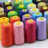 高品質100%年のポリエステルは衣服のための40/2本の縫う糸帽子袋に蹄鉄を打つ