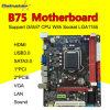Support DDR3 USB3.0, SATA 3.0, HDMI+Sound+LAN+VGA des Gainstar Motherboard-B75 der Kontaktbuchse-LGA1155