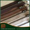 Dos-manera 2015 de High Polished 3# de la manera Metal Zipper para Sale