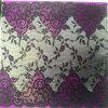 Guarnição de nylon do laço do Spandex da cor misturada para roupa interiores