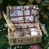 Традиционная прямоугольная корзина пикника вербы