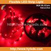 Nastro dell'indicatore luminoso della flessione SMD 5050 LED di colore rosso (HY-SMD5050-30-R)