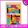 La costruzione classica di migliore disegno gioca il gioco di legno di Tetris per formazione W14A169 dei capretti