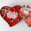 De Doos van de Gift van de Gift van de Dag van de valentijnskaart plaatst de Beste Gift van het Liefde u met Al Mijn Hart van de Middelen van de Bloemen van de Ambacht aan de Beste Vrienden in collocatie